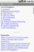 Screenshot of Signal Processing Study Guide