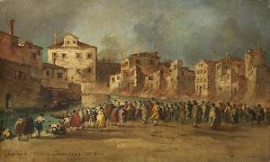 RIJKS: copy after Francesco Guardi: painting 1820