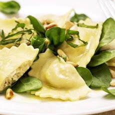 Chicken and Spinach Ravioli