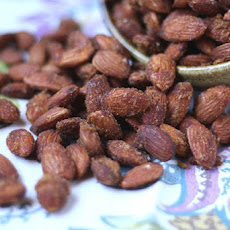Sweet and Spicy Almonds with Brown Sugar and Cayenne