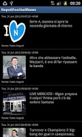 Screenshot of Napoli Football News