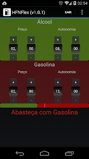 HFNFlex - Álcool ou Gasolina? - screenshot