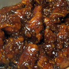 Ginger Orange Chicken Wings