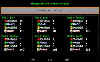 Screenshot of Codewords
