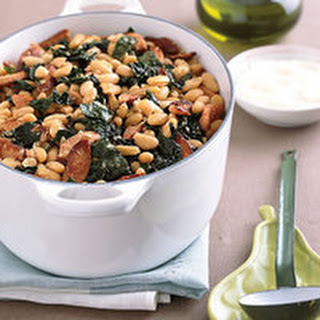 White Bean, Sausage and Kale Stew