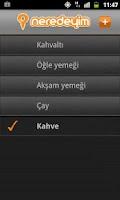 Screenshot of Neredeyim