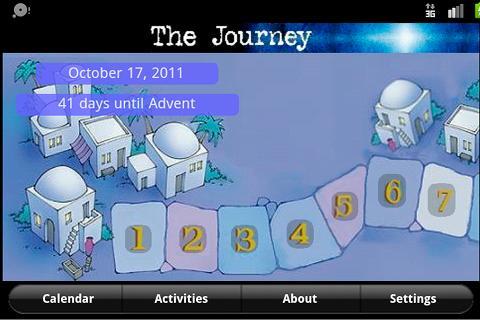 The Journey Advent Calendar