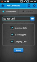 Screenshot of CallBlock Pro