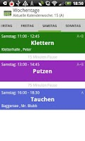 Screenshot of School Timetable Deluxe