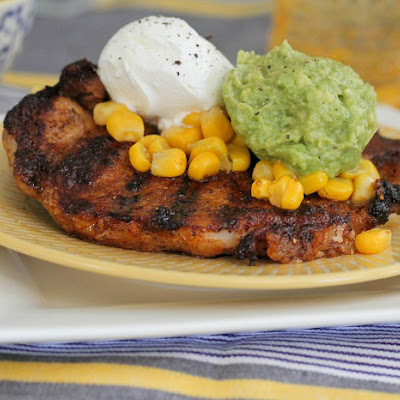 Taco Style Grilled Pork Chops