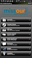 Screenshot of MCU Mobile Banking