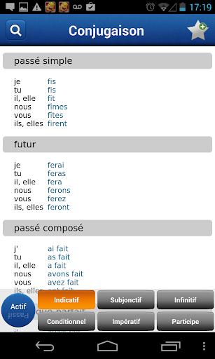 French Larousse dictionary - screenshot