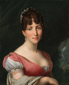 RIJKS: Anne Louis Girodet-Trioson:  Portrait of Hortense de Beauharnais, Queen of Holland 1809