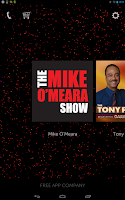 Screenshot of Mike O'Meara Show