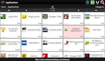 Screenshot of France Android