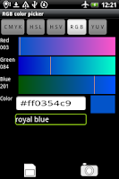 Screenshot of Rgb Color Picker