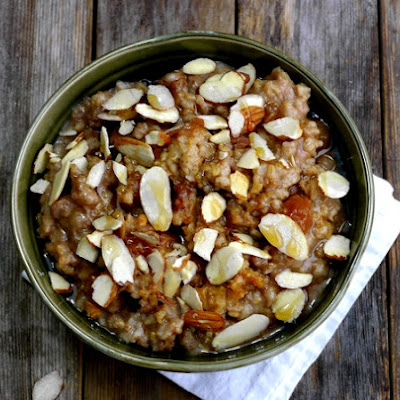Slow Cooked Chinese Five Spice Steel Cut Oats