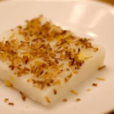 Maja Blanca (Coconut Pudding)