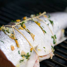 Grilled Wild Salmon with Preserved Lemon Relish