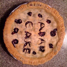 Famous Fresh Blueberry Pie