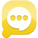 Easy SMS solid Yellow theme