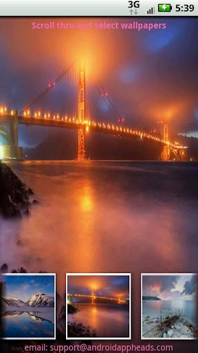 【免費媒體與影片App】風景壁紙-APP點子