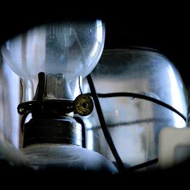 Old Oil Lamp by Nina VanDeleur - Digital Art Things ( oil lamp )