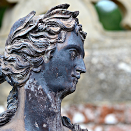 by Freddie Meagher - Buildings & Architecture Statues & Monuments ( england, statue, woman, charlcote, historic )