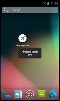 Screenshot of Airplane Mode