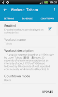 Screenshot of HIIT - interval workout PRO