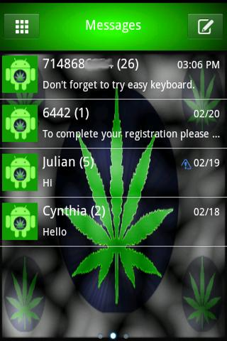 420 Weed Go SmS Theme