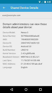 Google Apps Device Policy
