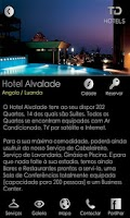 Screenshot of TD Hotels