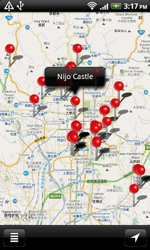 国宝建物MAP Free
