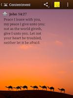 Screenshot of Bible Promises