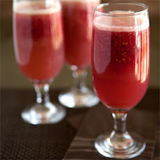 Virgin Raspberry Bellini