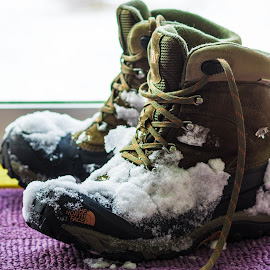Winter Boots by Michael Last - Artistic Objects Clothing & Accessories ( shoes, winter, snow, boots,  )
