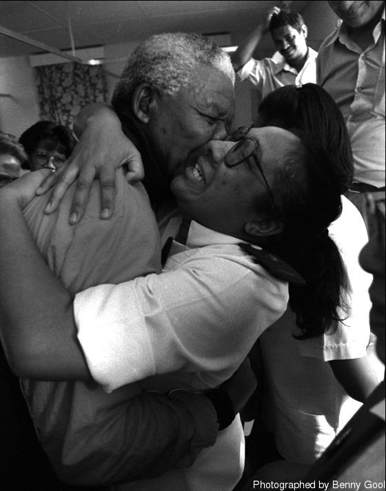 """Un bacio al presidente."""