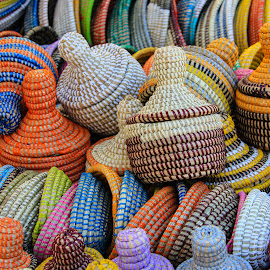 Colorful handmade straw baskets, Palma market, Majorca, Spain by Judith Dueck - Artistic Objects Other Objects ( dye, african, straw, colorful, handicraft, travel, baskets, moroccan, weaving, asian, sell, asia, light, spanish, selling, multipurpose, woven, traditional, tourism, malaysia, home industry, tunisian, malaysian, market, skill, handcrafted, artistic, small industry, north african, bazaar, bags )