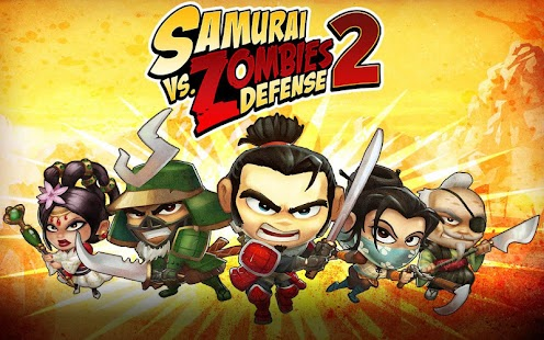 APK Game SAMURAI vs ZOMBIES DEFENSE 2 for BB, BlackBerry