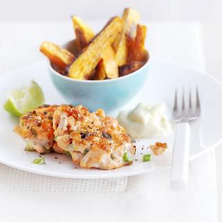 Salmon Ginger Fish Cakes Recipes