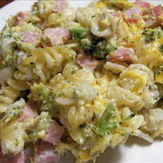 Easy Ham & Broccoli Casserole