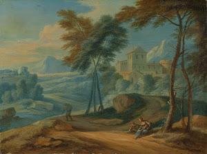 RIJKS: Adriaen Frans Boudewyns: painting 1711