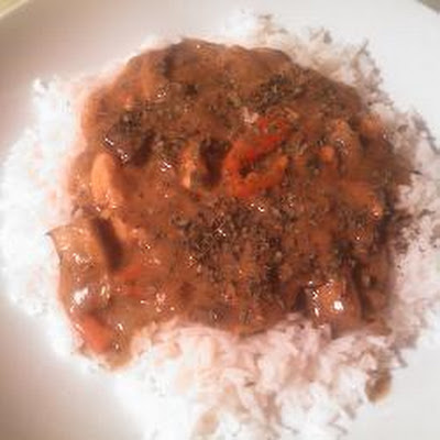 Slow Cooker Chicken And Mushroom Curry