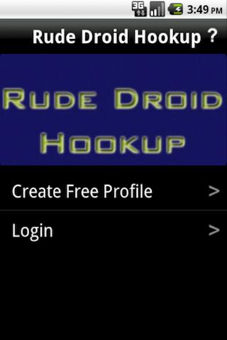 rude-hookups-booty-call-now for android screenshot