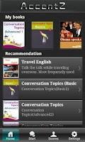 Screenshot of AccentZ IAP