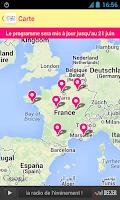Screenshot of Fête de la Musique 2014