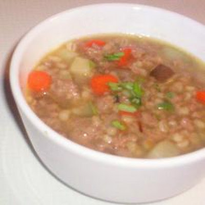 Tarragon-Turkey Soup