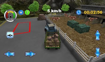 Screenshot of Tractor: Farm Driver