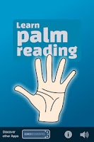 Screenshot of Palmistry. Palm Reading